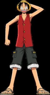 Comment Luffy a-t-il eu sa cicatrice sous son oeil ?