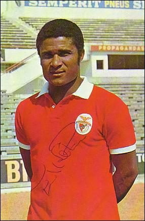 Au ballon d'or 1966, Eusebio était ...