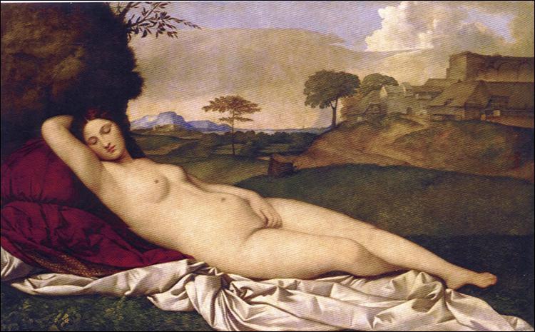 Qui a peint cette Vénus endormie ?