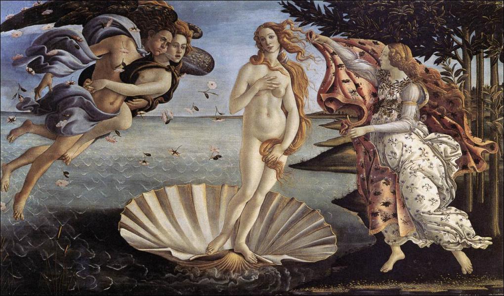 Qui a peint 'La naissance de Vénus' ?