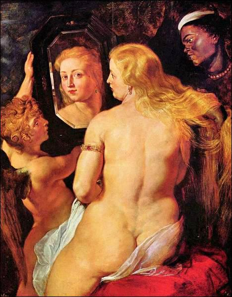 Qui a peint Vénus à sa toilette ?