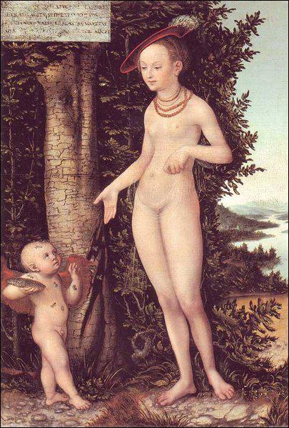 Qui a peint Vénus et Cupidon ?