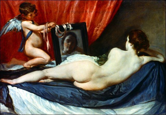 Qui a peint cette Vénus au miroir ?
