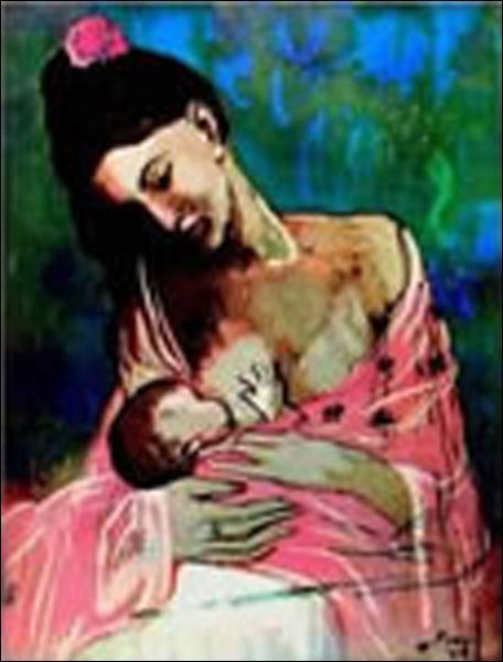 Quel peintre eut une période rose ?