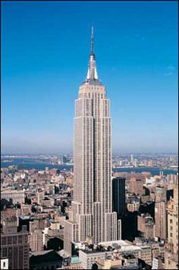 Puis nous quittons l'Asie et nous allons en Amérique du Nord, on monte dans l'Empire State Building à New York pour voir toute la vue de New York.
