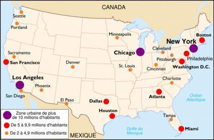 Quelle est la plus grande ville des États Unis ?