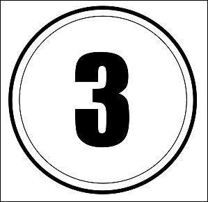 Trois, 3...