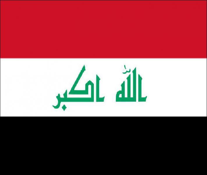Quelle est la capitale de l'Iraq ?