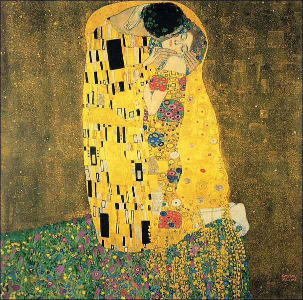 Où se trouve 'Le baiser' de Klimt ?
