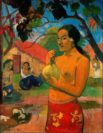 Où se trouve cette 'Femme portant un fruit' de Paul Gauguin ?