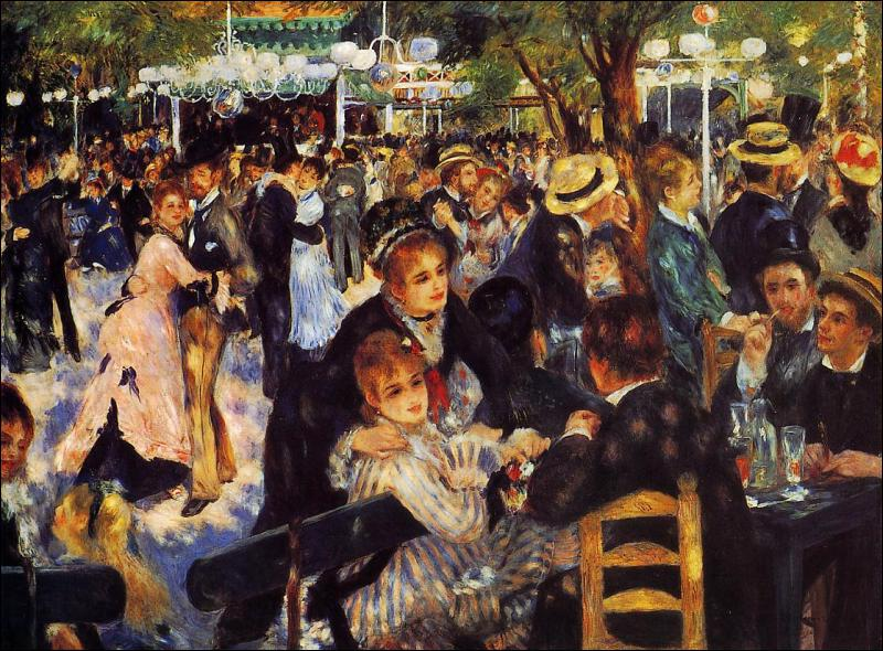 Où se trouve 'Le bal du Moulin de la Galette' d'AugusteRenoir ?