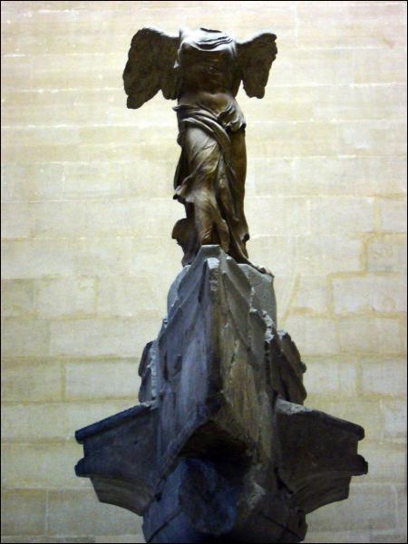 Où se trouve la 'Victoire de Samothrace' ?