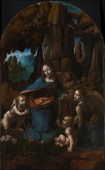 Où se trouve cette 'Vierge aux rochers' de Léonard de Vinci ?