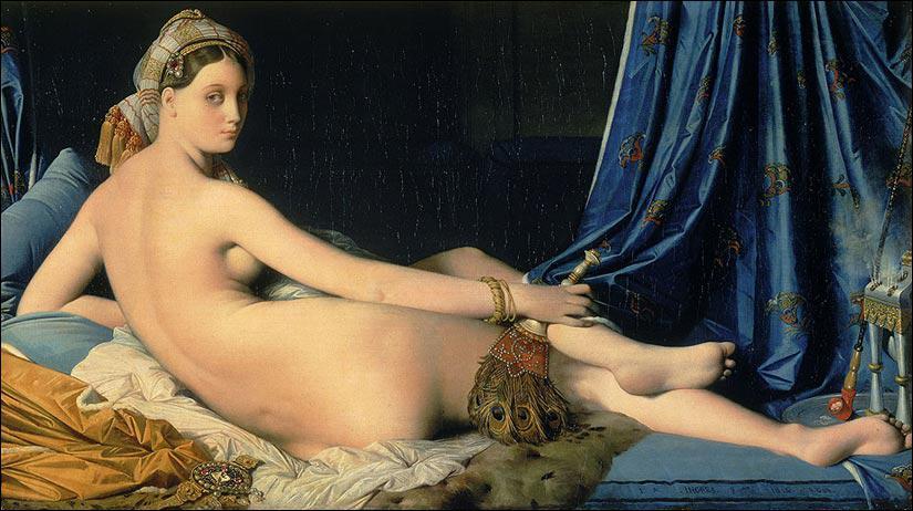 Où se trouve la 'Grande odalisque' de Jean-Dominique Ingres ?