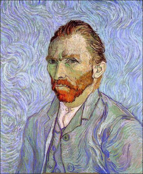 Où se trouve cet autoportrait de Van Gogh ?