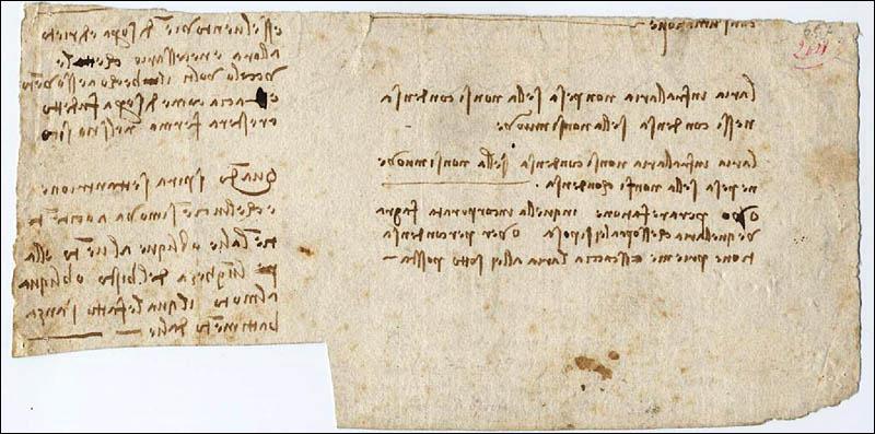 Léonard a développé une écriture «spéculaire», c'est-à-dire que son écriture ne peut être lue que dans un miroir : pourquoi ?