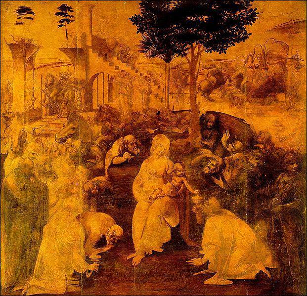 Vers 25 ans, Léonard s'installe dans son propre atelier, dans la même ville que son maître. Quelle est alors sa situation ?