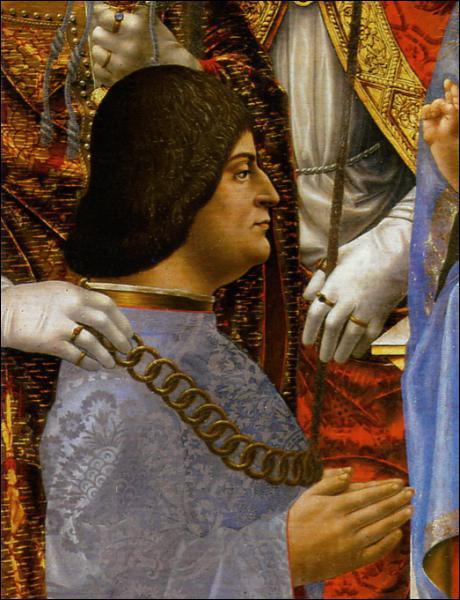 Quel poste sollicite-t-il auprès du duc de Milan, sans l'obtenir ?