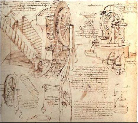 Parmi ces « gadgets », lequel N'a PAS été conçu par Léonard ?
