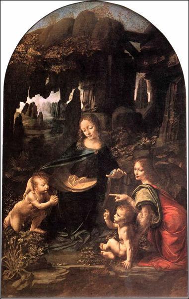 Vers 35 ans, Léonard peint la 1ère version de la «Vierge aux rochers» pour des moines : pourquoi est-elle refusée par les commanditaires ?