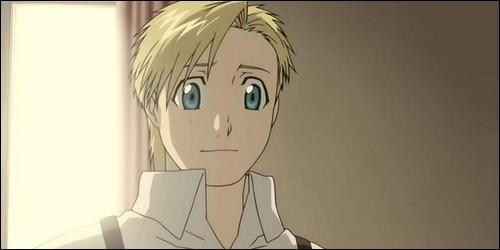 """Dans """"Full Metal Alchemist"""", que devient Alphonse, le petit frère d'Edward au début de l'histoire ?"""