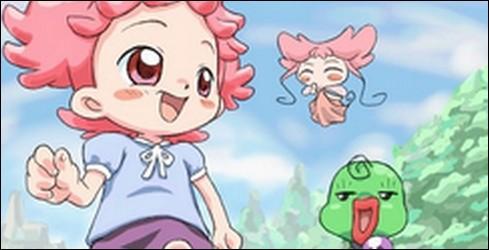"""Dans """"Magical Doremi"""", comment s'appelle la fée de Bibi, petite sœur de Dorémi ?"""