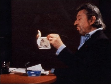 Gainsbarre, encore lui, brûle un billet sur un plateau de télé. Quel était la valeur de ce billet ?