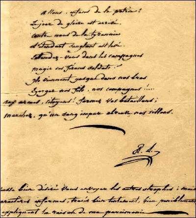 Quel manuscrits Serge Gainsbourg s'est-il offert pour 130 000 francs ?