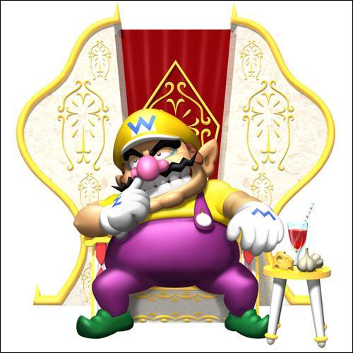 À quel moment Wario vole-t-il le trône d'Harmonie ?