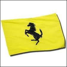 Quelle marque n'arbore PAS un cheval noir cabré sur fond jaune ?