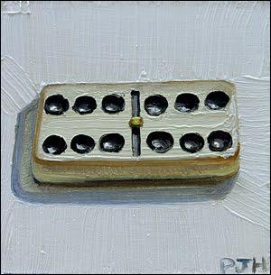 Au jeu des dominos, combien y a-t-il de pièces ?