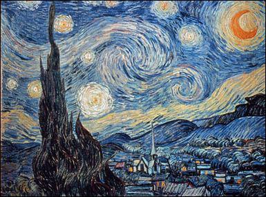 Quel est le nom de ce célèbre tableau de Vincent Van Gogh ?