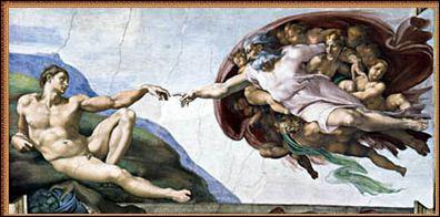 Quel est le nom de ce célèbre tableau de Michel-Ange ?