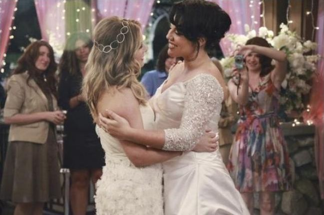 Callie et Arizona Grey's Anatomy