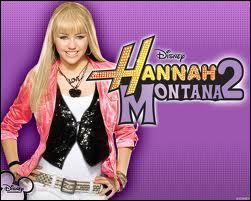 Qui joue hannah montana ?