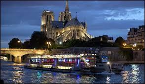 Ce soir, Paris by night et voyage en ''bateau-mouche'' . Ces bateaux portent ce nom car...