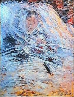 Quel peintre a peint sa femme Camille décédée à 32 ans sur son lit de mort ?