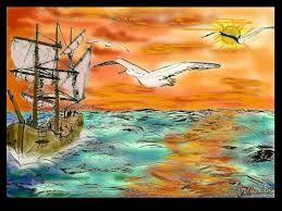 Le poète est semblable au prince des nuées Qui hante la tempête et se rit de l'archer Exilé sur le sol au milieu des huées Ses ailes de géant l'empêchent de marcher