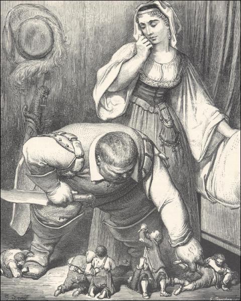 Qui a réalisé ces gravures pour le conte du Petit Poucet ?