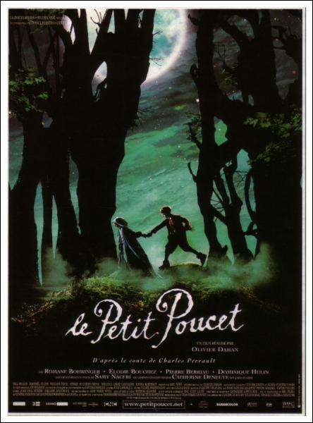 En quelle année est sorti le film 'Le Petit Poucet' d'Olivier Dahan (avec Romane Bohringer) ?