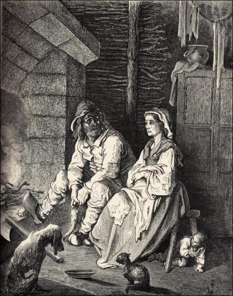 Quel est le métier des parents de Poucet ?