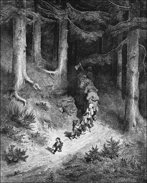Combien de fois Poucet et ses frères sont-ils perdus dans la forêt par leurs parents ?