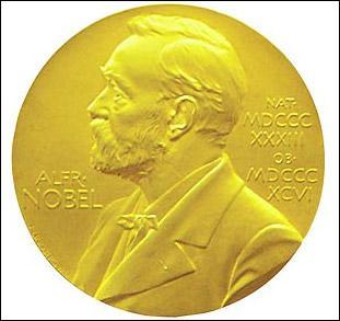 Parmi ces domaines, lequel n'est pas récompensé par un Prix Nobel ?