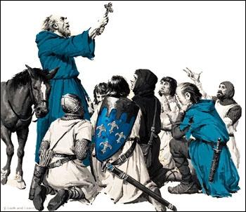 Avant de parler des Templiers, sauriez-vous me dire le nom de ce religieux fanatique qui galvanisait les foules lors de la première croisade ?