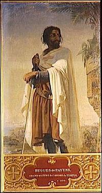 Fini de rire... Voici les Templiers ! En 1119, Hugues de Payns accompagné de huit chevaliers créa un ordre voué à la protection des pèlerins... Comment se nommèrent-ils au début ?