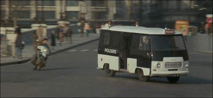 Ce fourgon de la police de 1967 est un :