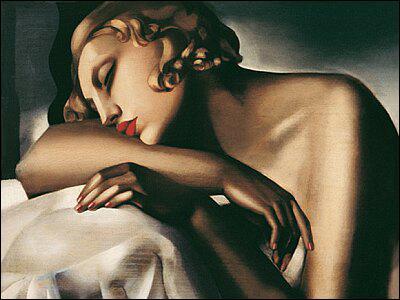 Qui a peint La dormeuse ?