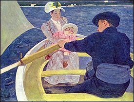 Qui a peint La partie de bateaux ?