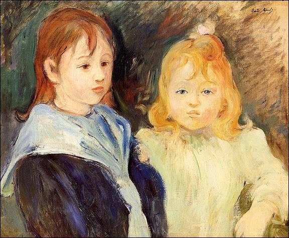 Qui a peint Portraits d'enfants ?
