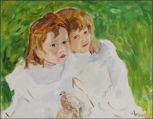 Qui a peint Les soeurs ?